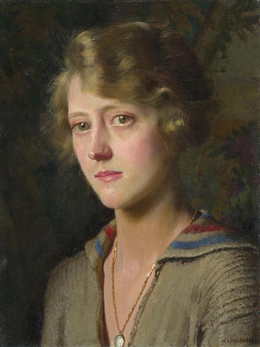 Mary, the Artists Daughter. William Logsdail