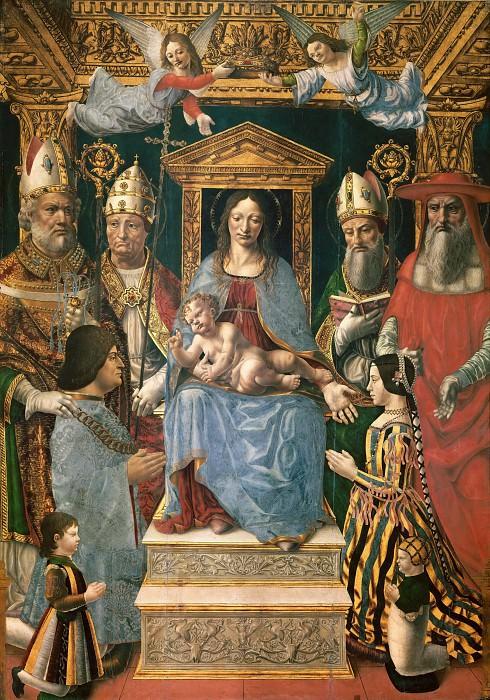 Sforzesca Altarpiece. Fernando de los Llanos