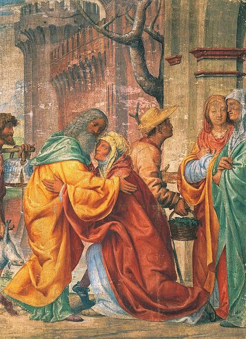 Встреча святой Анны со святым Иоакимом. Бернардино Луини