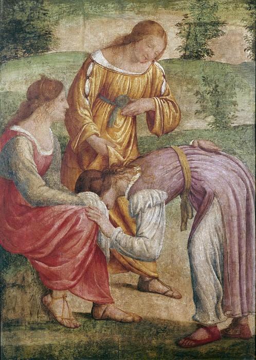 Игра в салочки (фреска из виллы Пелукка в Сесто-Сан-Джованни). Бернардино Луини