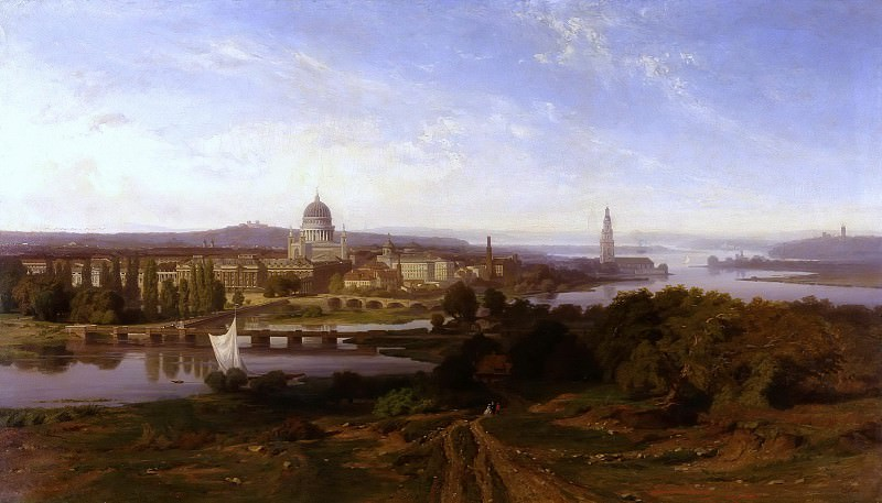 View of Potsdam. Karl Lindemann-Frommel
