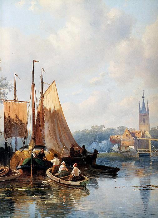 Leickert Charles Detail. Charles Henri Joseph Leickert