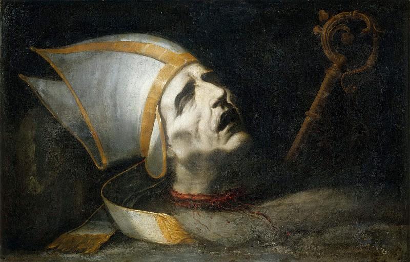 Saint Fulgentius. Juan de Valdés Leal