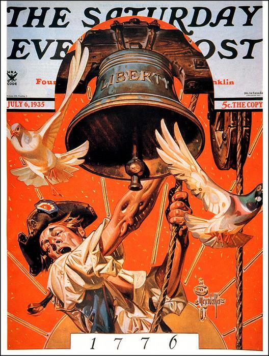 Saturday Evening Post- July6-1935. Joseph Christian Leyendecker