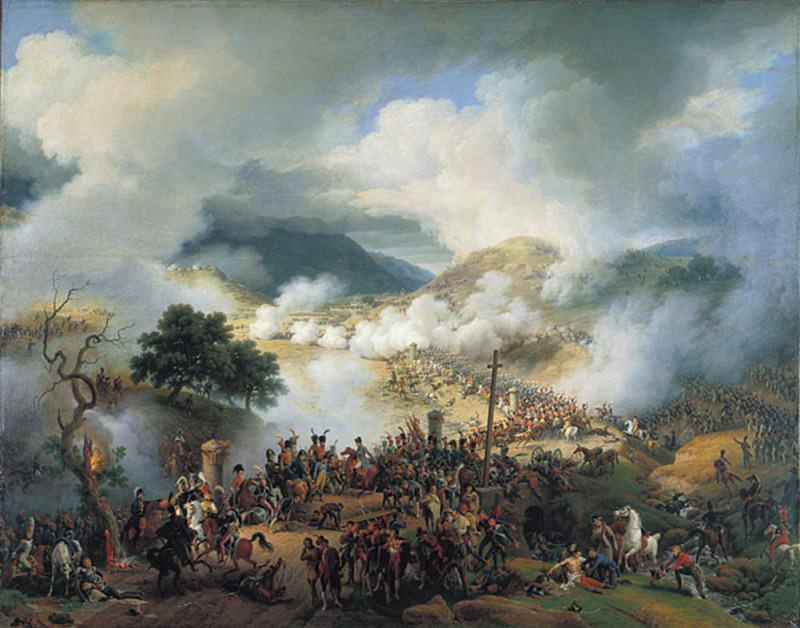 Battle of Somosierra November 30th 1808. Louis Lejeune
