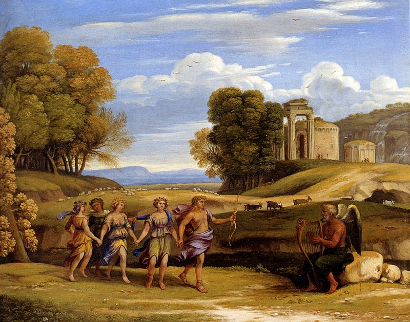 The Dance Of The Seasons. Claude Lorrain