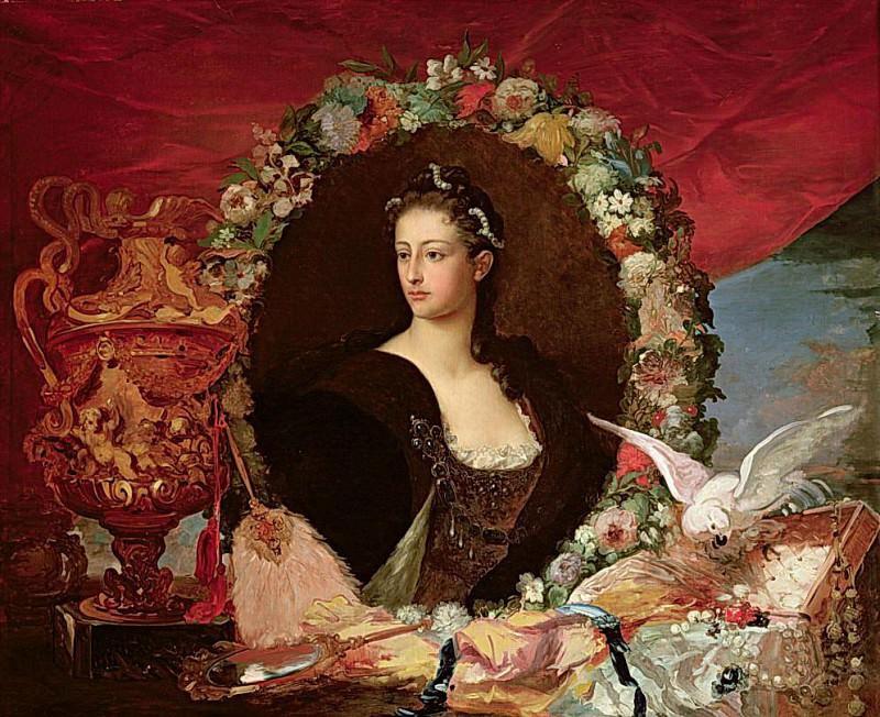 Francisca Caroline de Braganca (1824-1898) Princess of Joinville. Eugene-Louis Lami