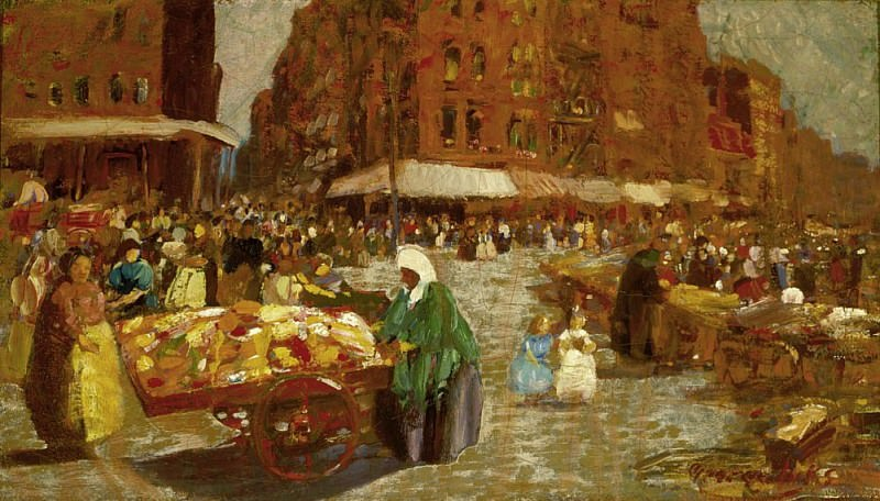 Houston Street. George Luks