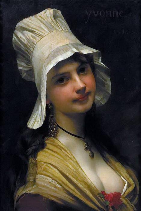 Yvonne. Jules-Joseph Lefebvre