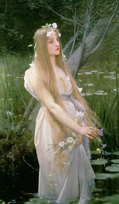 Ophelia. Jules-Joseph Lefebvre