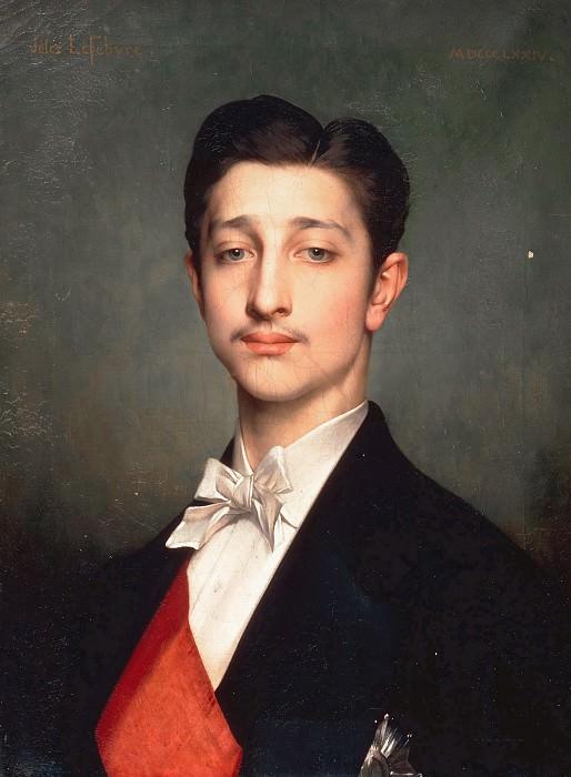 Луи Наполеон (1856-1879). Жюль-Жозеф Лефевр