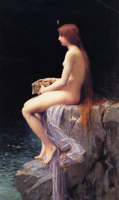 Pandora. Jules-Joseph Lefebvre