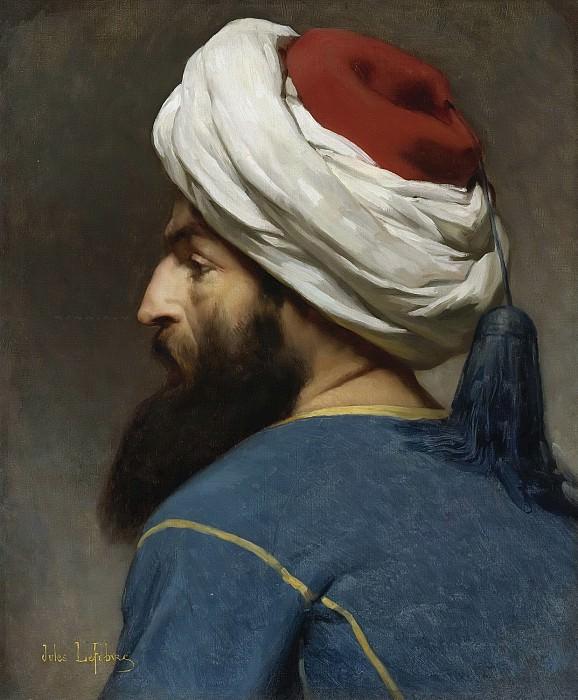Портрет османа. Жюль-Жозеф Лефевр