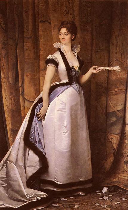 Портрет женщины. Жюль-Жозеф Лефевр