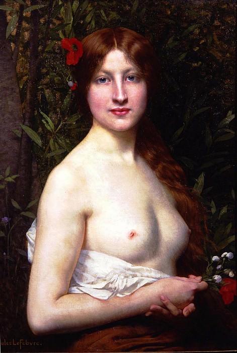 Fleurs des Champs. Jules-Joseph Lefebvre