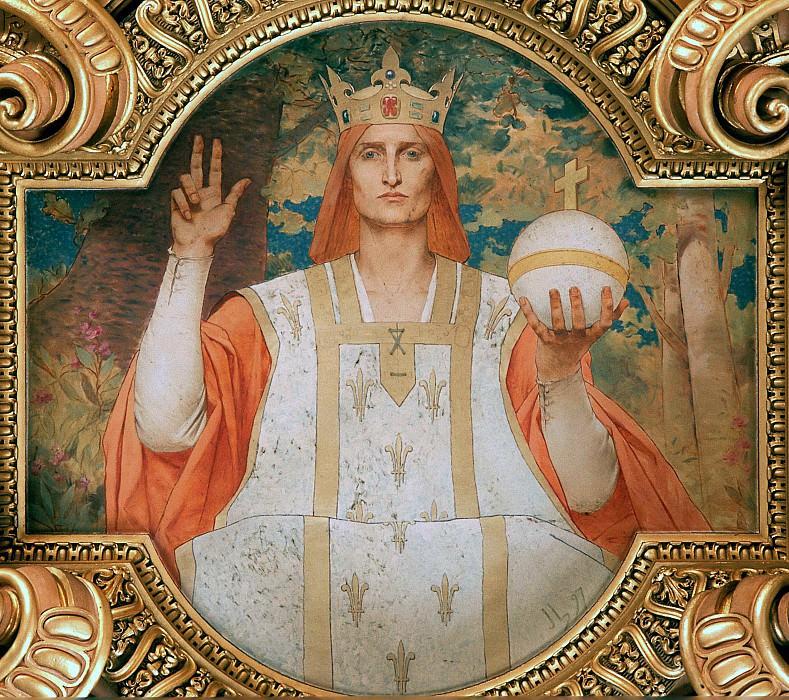 Святой Людовик IX, король французский. Жюль-Жозеф Лефевр