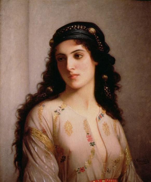 Еврейская женщина из Танжера. Чарльз Захари Ленделл