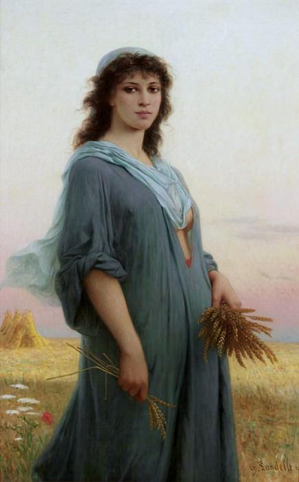 Ruth. Charles Zacharie Landelle