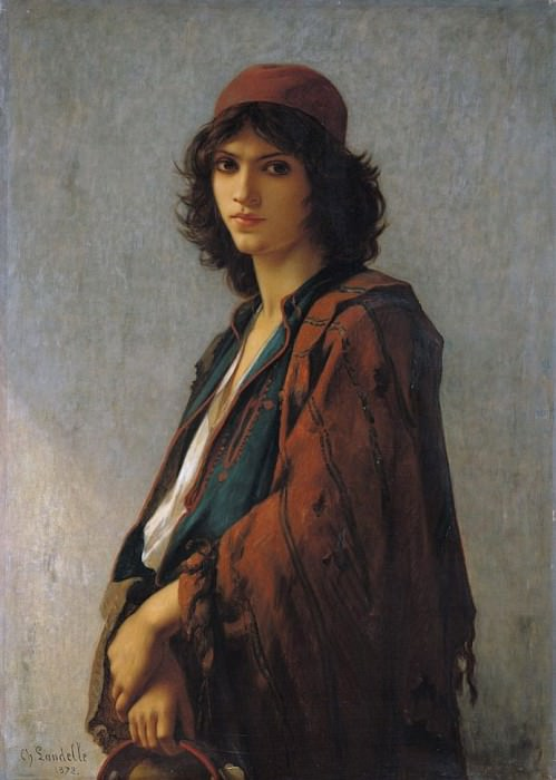 Young Bohemian Serb. Charles Zacharie Landelle