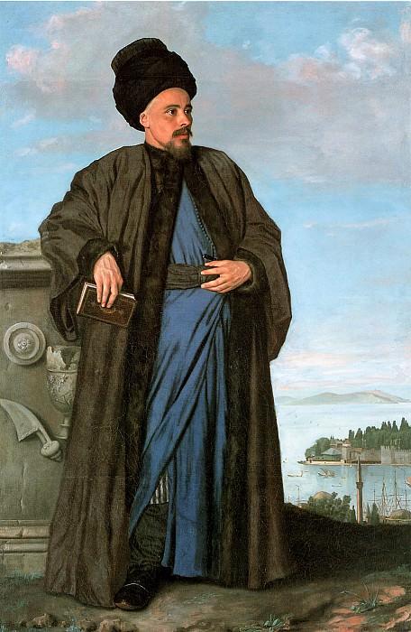 Liotard Jean-Etienne Richard Pococke Sun. Jean Etienne Liotard