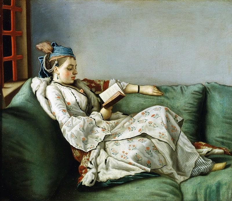 Ritratto di Maria Adelaide di Francia vestita alla turca. Jean Etienne Liotard