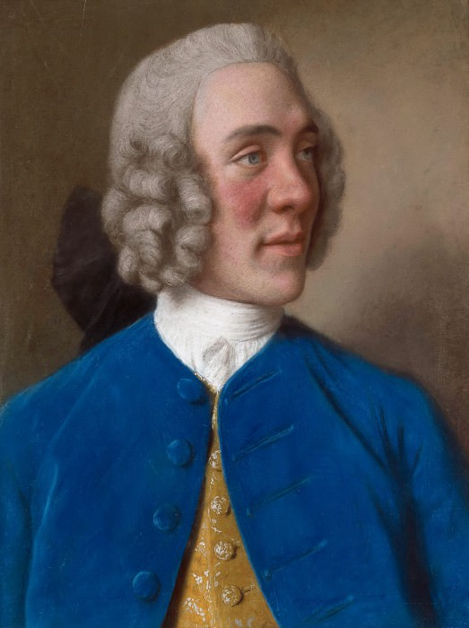 Robert D Arcy, 4th Earl of Holderness. Jean Etienne Liotard