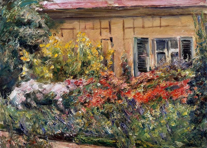Цветы у дома садовода. Макс Либерман