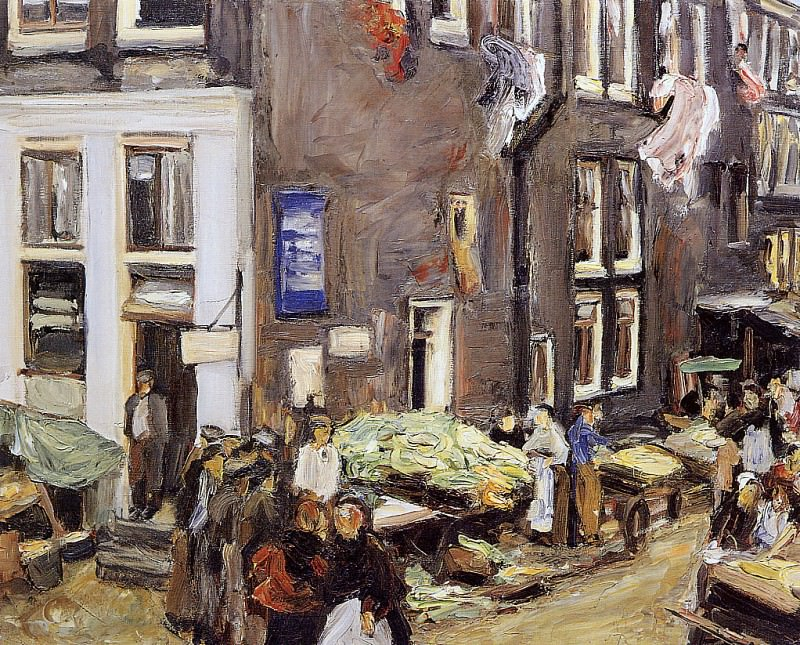 Jewish quarter Amsterdam. Max Liebermann