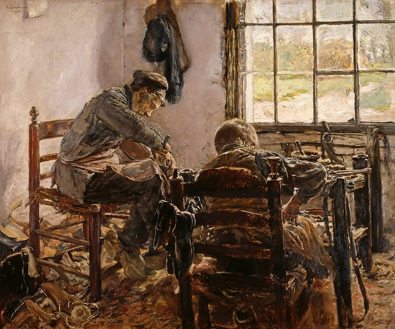 Cobblers Workshop. Max Liebermann