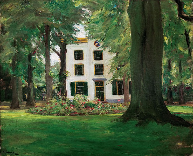 Country house in Hilversum. Max Liebermann