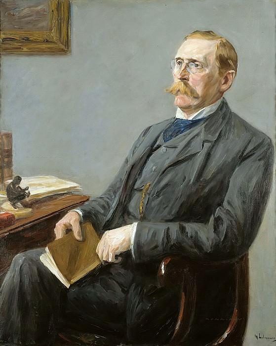 Wilhelm Bode. Max Liebermann