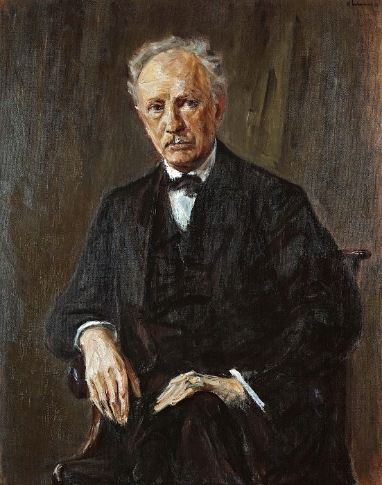 Portrait Richard Strauss. Max Liebermann