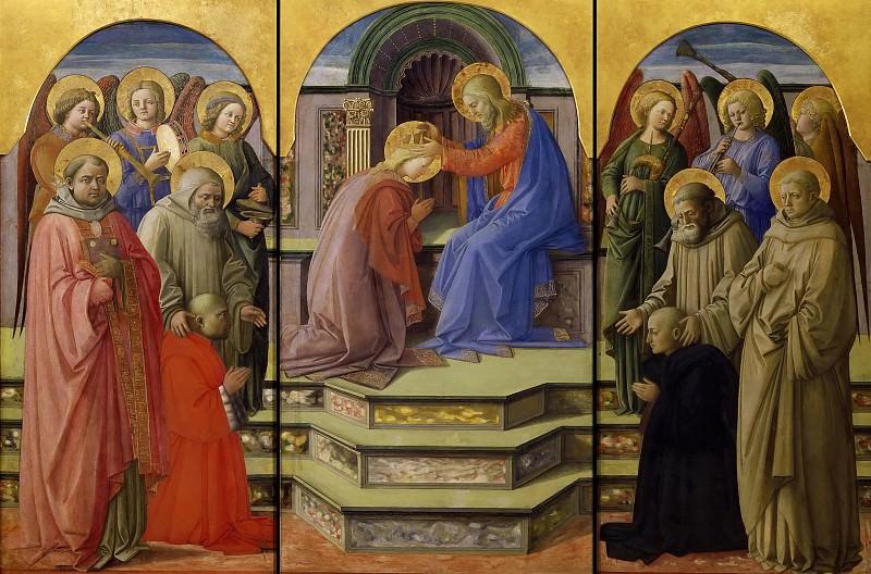 Coronation of the Virgin. Fra Filippo Lippi