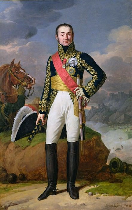 Nicolas-Charles Oudinot (1767-1847) Duke of Reggio and Marshal of France. Robert Lefevre