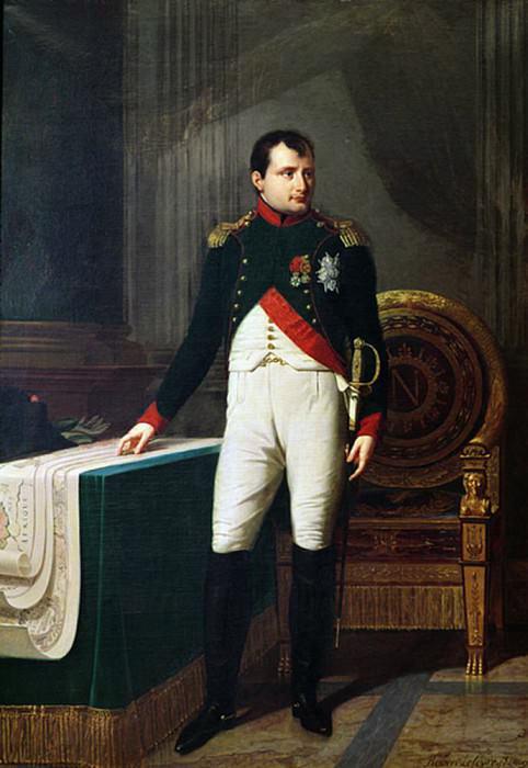 Portrait of Napoleon Bonaparte (1769-1821). Robert Lefevre