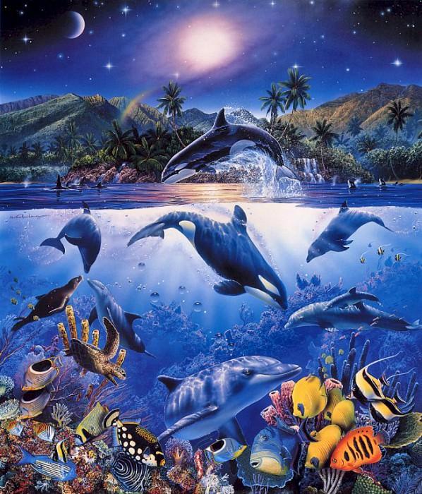 Lassen, Christian Riese - Rainbow Sea (end. Christian Riese Lassen