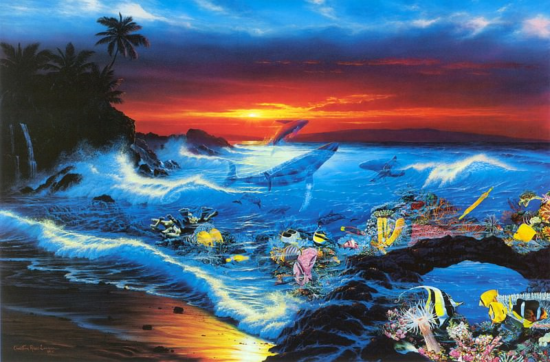 Виденье моря. Кристиан Риес Лассен