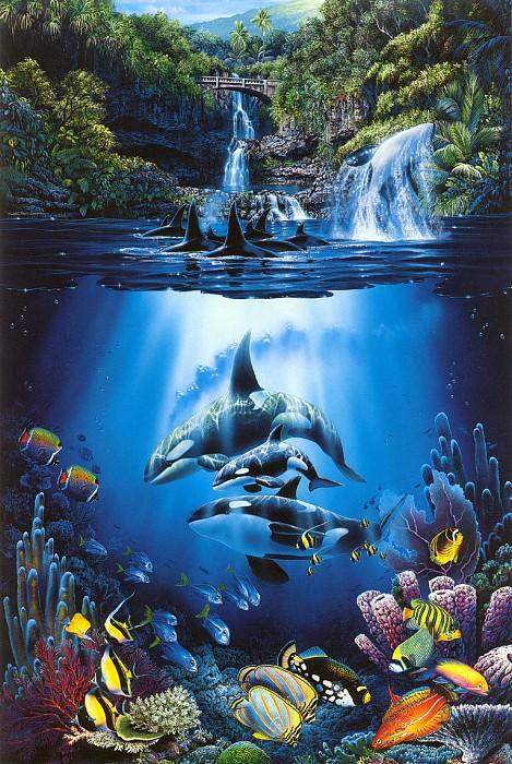 kb Lassen 10 The Sacred Pools. Кристиан Риес Лассен