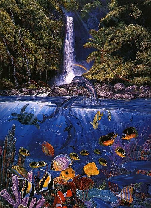 Eternal Rainbow Sea. Christian Riese Lassen