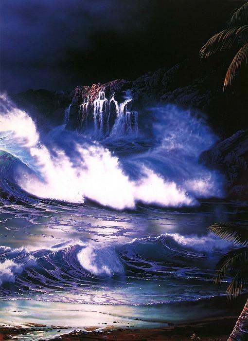 Cliffs Of Kapalua. Christian Riese Lassen