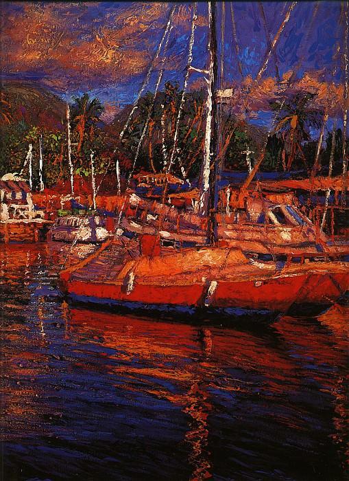 Цвета острова Мауи. Кристиан Риес Лассен