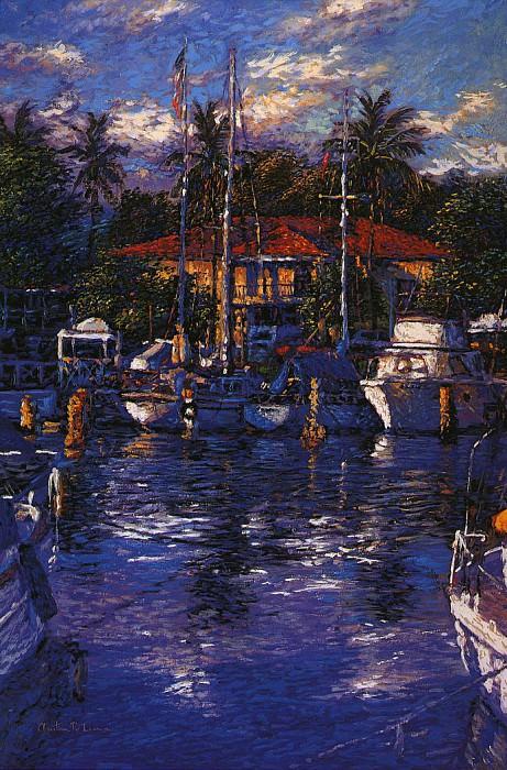 Отражения Лахайны в воде. Кристиан Риес Лассен
