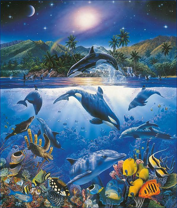 am-Christian Riese Lassen Rainbow Sea. Кристиан Риес Лассен