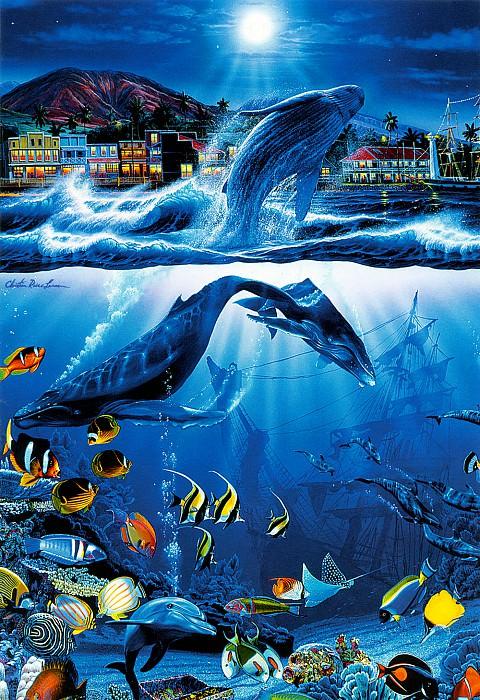 Поздравительные открытки -Сокровища острова-. Кристиан Риес Лассен