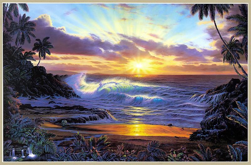Рассвет на Мауи. Кристиан Риес Лассен