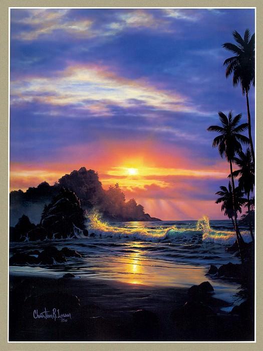Tropical Dusk. Christian Riese Lassen