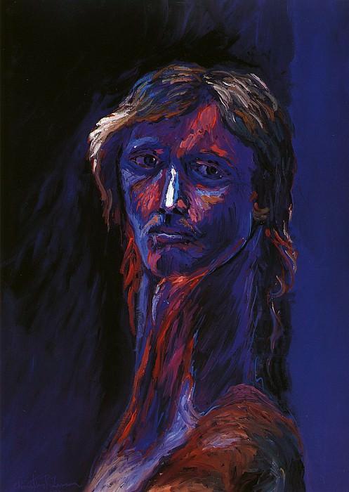Импрессионистический автопортрет. Кристиан Риес Лассен