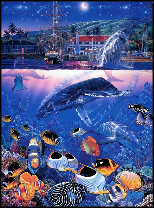 TA SWA 061 Crystal Waters of Maui - CR Lassen. Кристиан Риес Лассен