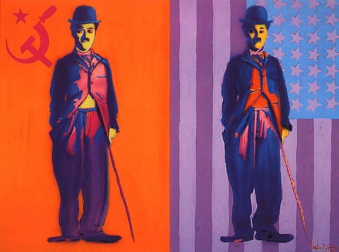 Charlie ChaplinX2. Christian Riese Lassen