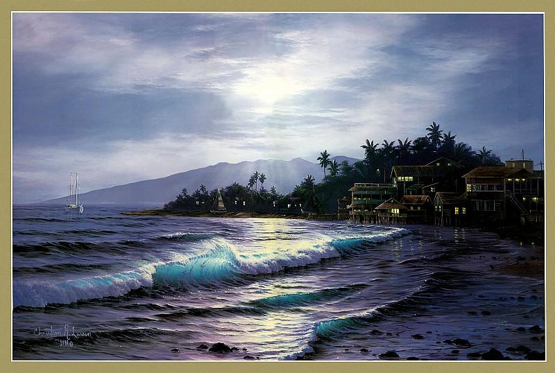 Peaceful Lahaina. Christian Riese Lassen